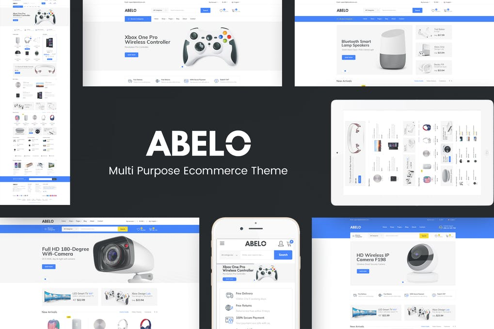 Abelo - Digital Responsive Prestshop Theme