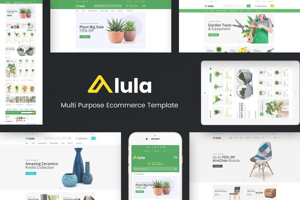 Alula - Multipurpose Prestashop Theme