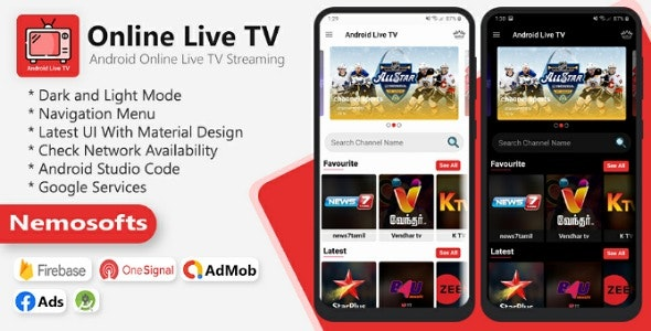 Android Online Live TV Streaming
