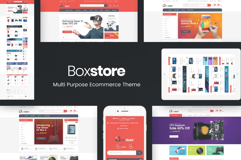 BoxStore - Multipurpose Prestashop Theme