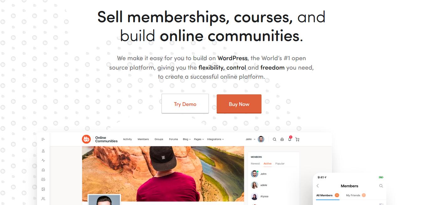 BuddyBoss Platform 1.5.3 + PRO 1.0.6 - Sell Memberships, Courses & Build Online Communities