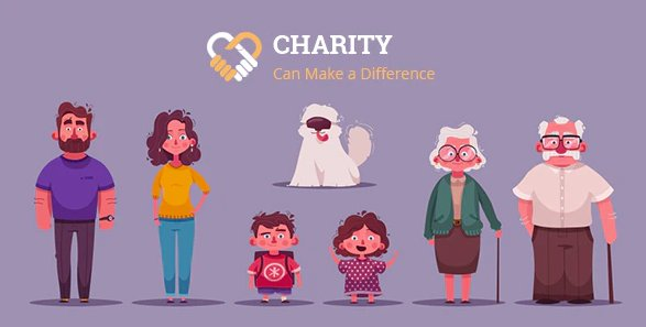 Charity Nonprofit Charity System with Website v1.1