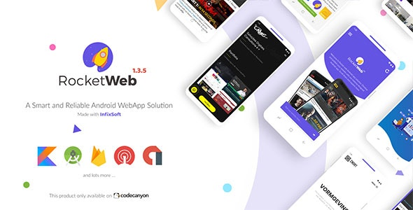 Configurable Android WebView App Template