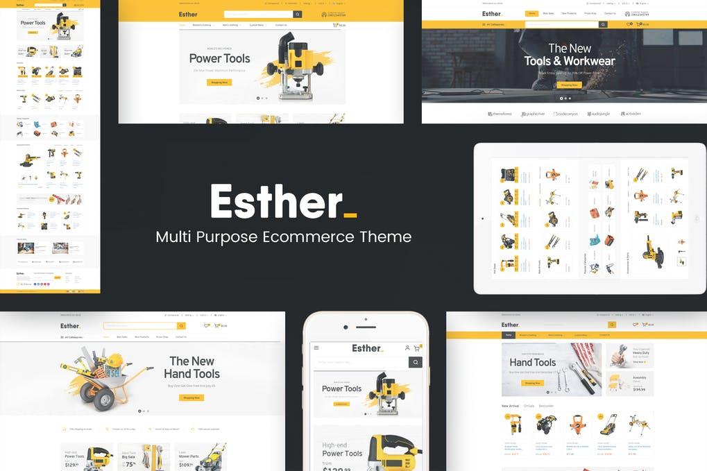 Esther - Responsive Prestashop Theme