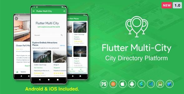 Flutter Multi City