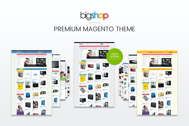 Gala BigShop Reponsive Magento Theme CE 1.9