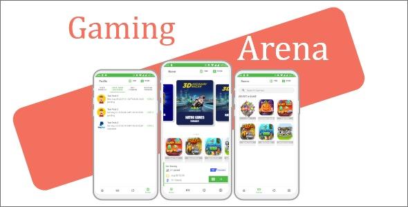 Gaming Arena 1.0 - application for gaming fantasy tournament (MPL clone)