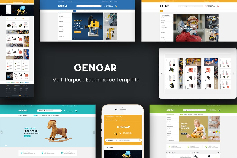 Gengar - Responsive Magento 2 Theme