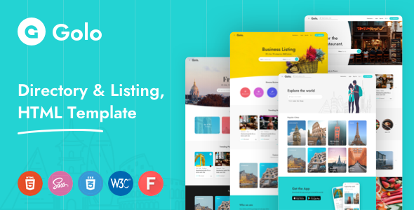 Golo - Directory & Listing, Travel WordPress Theme