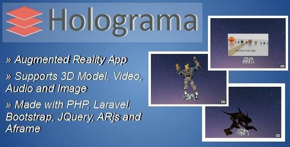Holograma v2.1 - augmented reality constructor