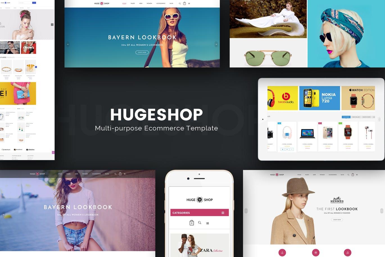 HugeShop - Wonderful Multi Concept Magento
