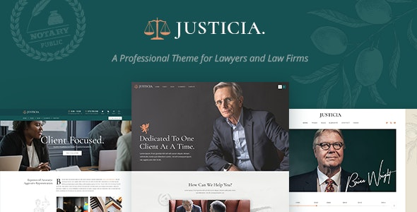 Justicia - Lawyer and Law Firm Theme
