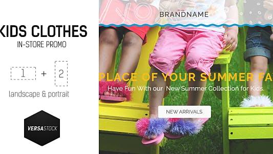 Kids In-Store Promo