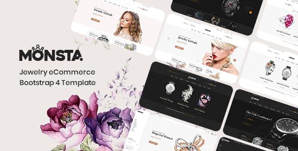 Monsta - Jewelry Theme for WooCommerce WordPress