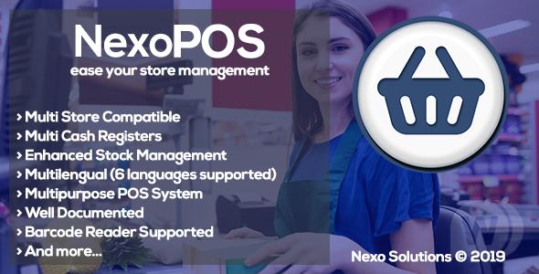 NexoPOS v3.15.41 NULLED - store management script