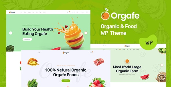 Organium - Organic Food Products WordPress Theme