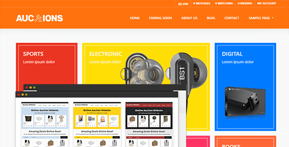 PremiumPress Auction Theme 10.3.0 NULLED