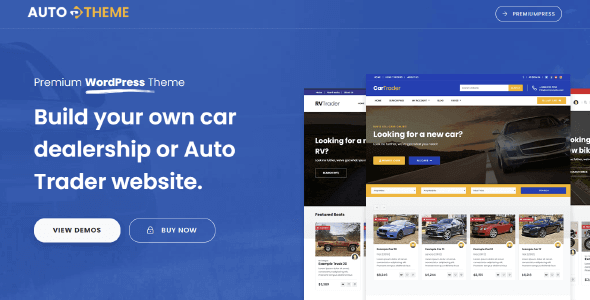 PremiumPress Car Dealer Theme 10.3.0 NULLED
