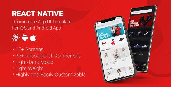 React Native Store UI Template
