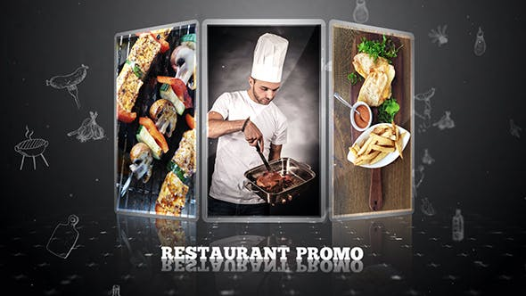 Restaurant Promo - After Effects Template