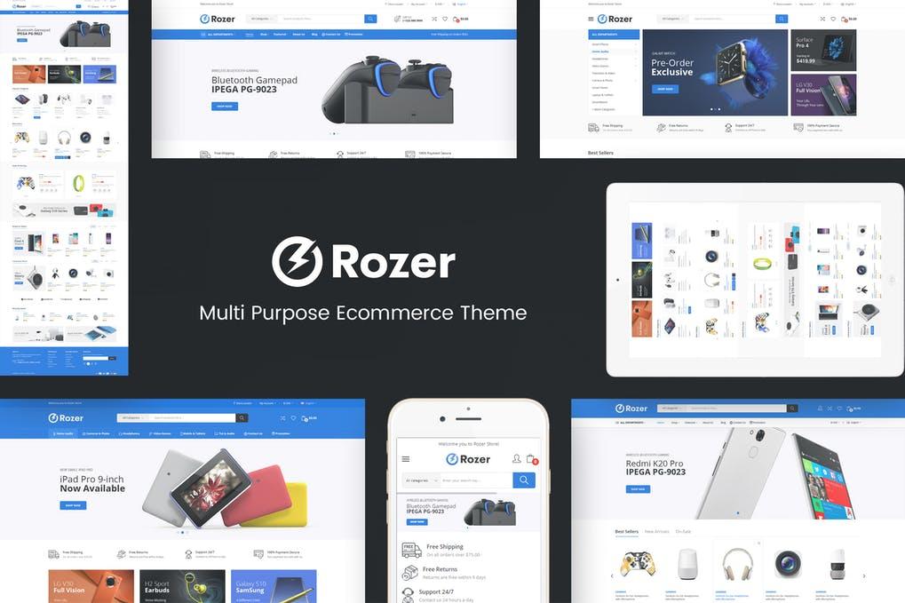 Rozer - Digital Responsive Prestashop Theme