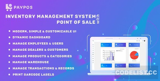 SalePro v3.3.4 NULLED - inventory management system with POS, HRM, accounting