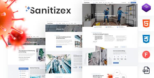 Sanitizex - Sanitizing Services WordPress Theme