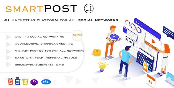 Smart Post - Social Marketing Tool