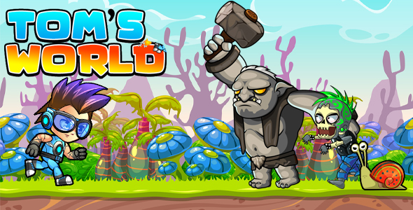 Super Jungle Adventure Tom World Full Unity Game
