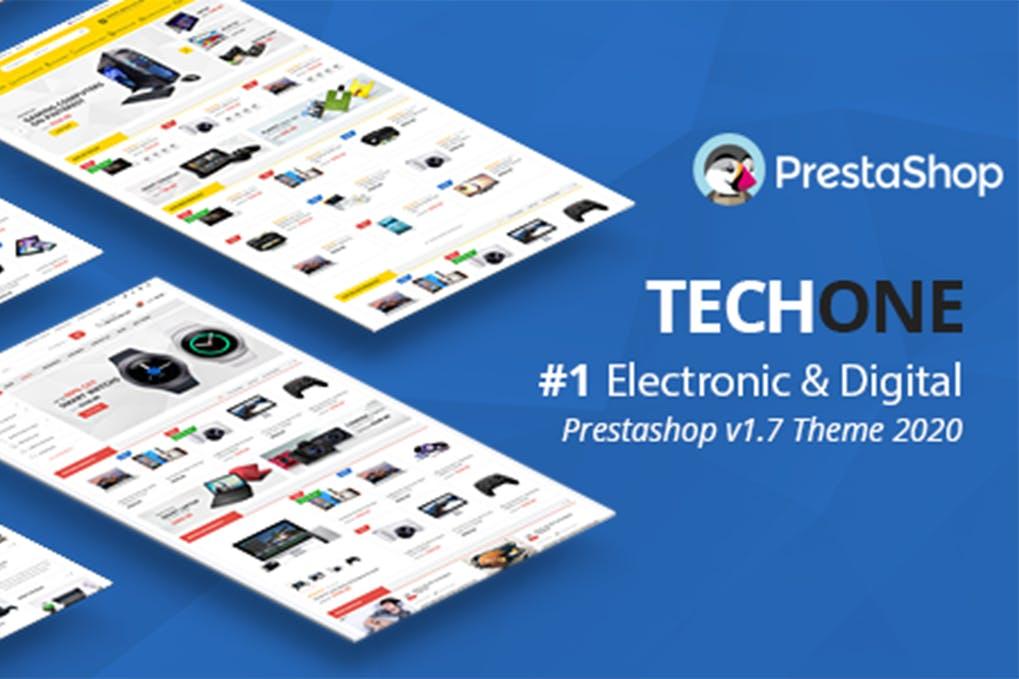 Techone - Responsive Prestashop 1.7 Theme