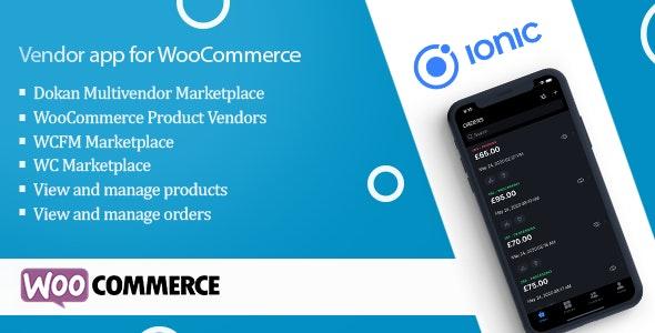 Vendor app for WooCommerce