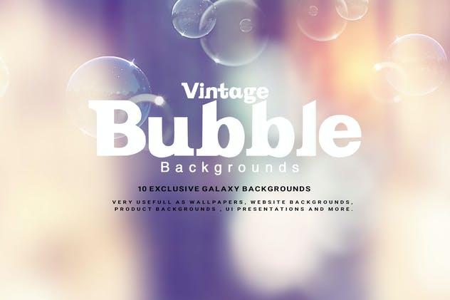 Vintage Bubble Backgrounds