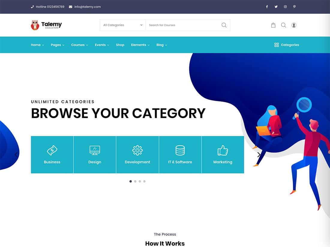 eLumine -the best LearnDash theme for your website