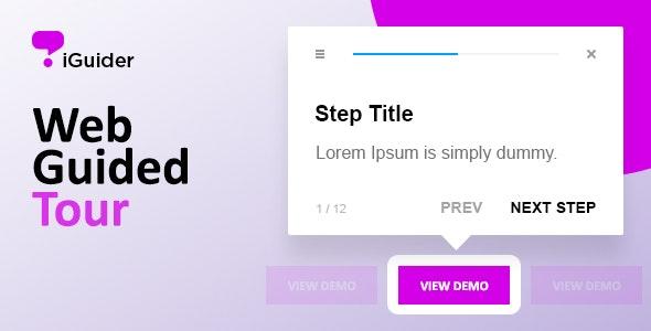 iGuider - Webpage UI Help Tour