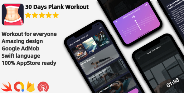 iOS Workout Application