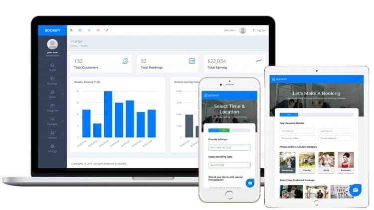 Bookify - Multipurpose Booking App - Calendars