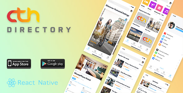 CTH Directory - React Native mobile apps