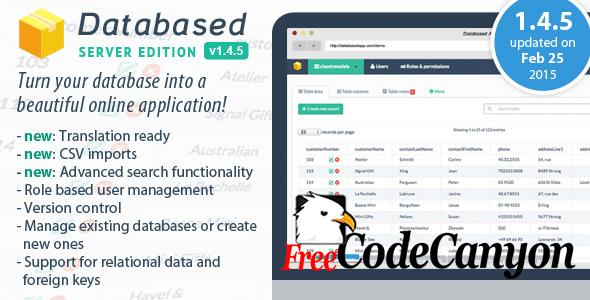 Database Application Platform