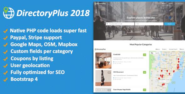 DirectoryPlus v1.08 - business directory script