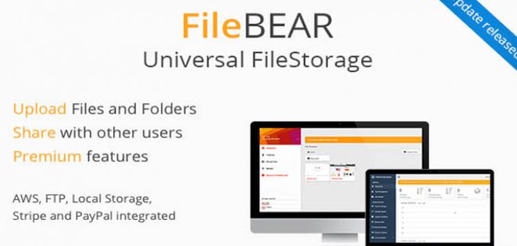 FileBear v1.7 - file sharing script
