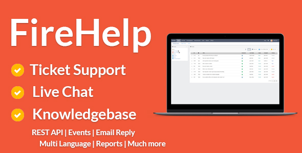 FireHelp v2.0.4 - live chat and knowledge base