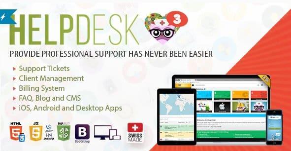 HelpDesk v3.5 NULLED - professional solution for support