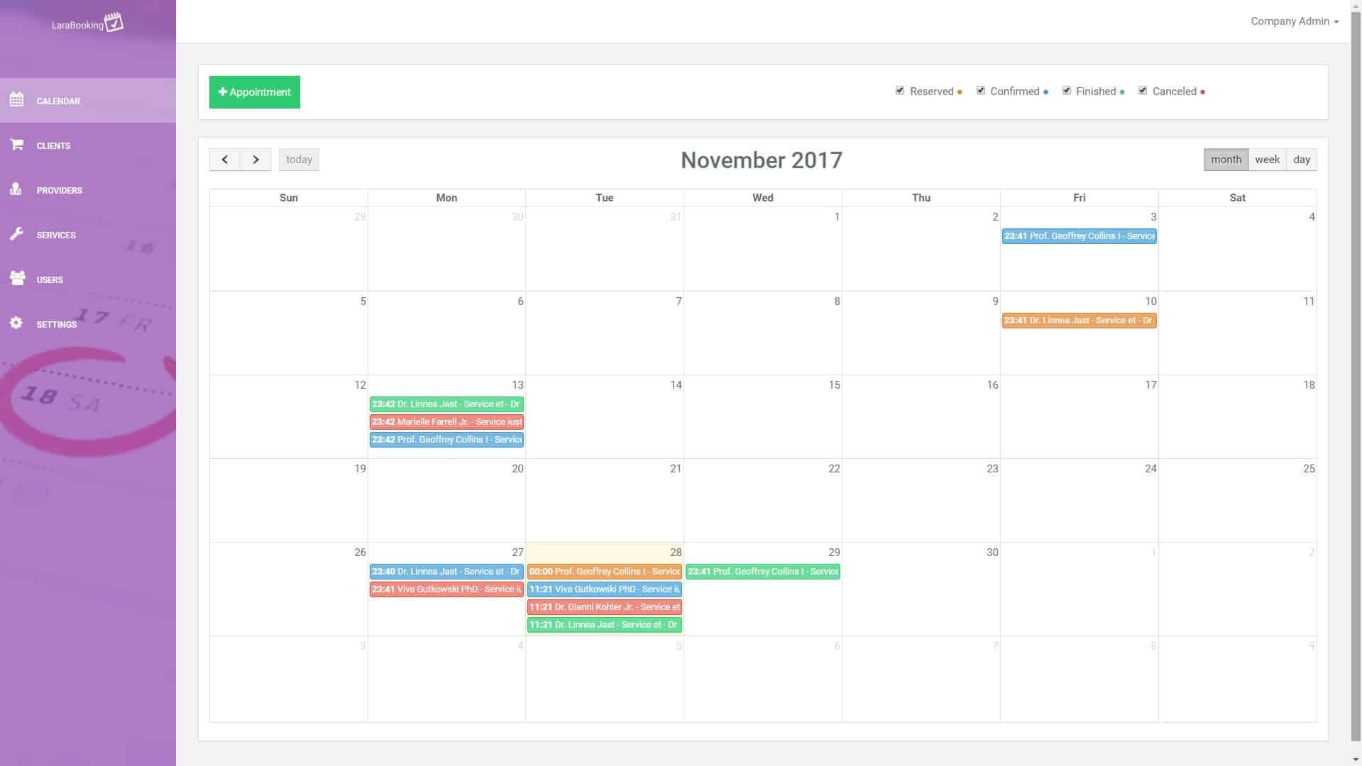 LaraBooking v1.0.1 - Laravel booking engine