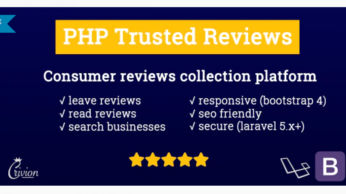 PHP Trusted Reviews v1.0.7 NULLED