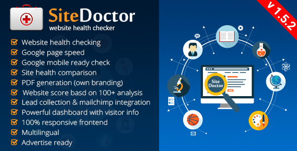 SiteDoctor v1.5.2 NULLED - check site health