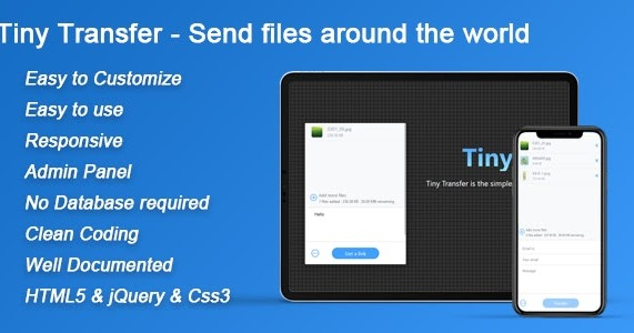 TinyTransfer 1.0.0 - file transfer script