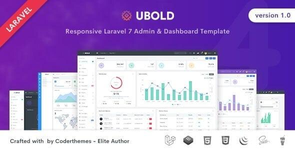 Ubold v1.0.0 - Laravel admin panel