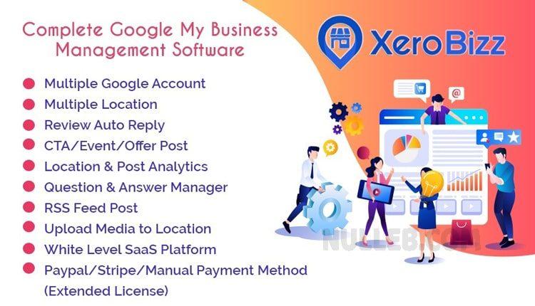 XeroBizz v1.1 - a script for managing Google My Business (SaaS)