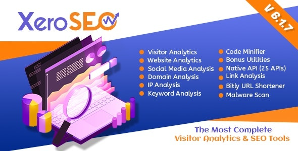 XeroSEO - The Most Complete Visitor Analytics & SEO Tools