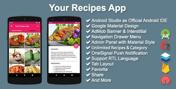 Your Recipes App v2.5.0 - Android recipes app